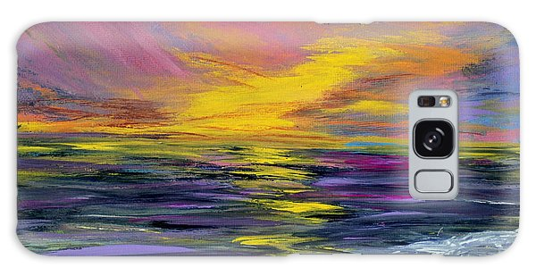 Collection Art For Health And Life. Painting 8 Galaxy Case by Oksana Semenchenko