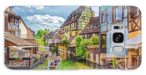 Colorful Colmar Galaxy Case by JR Photography