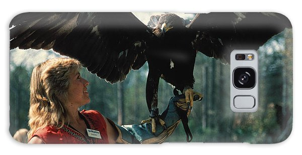 Come Fly With Me Galaxy Case by Carl Purcell