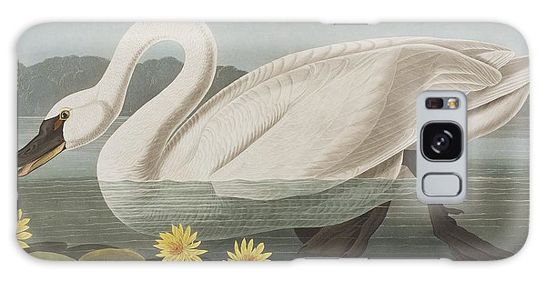 Common American Swan Galaxy Case
