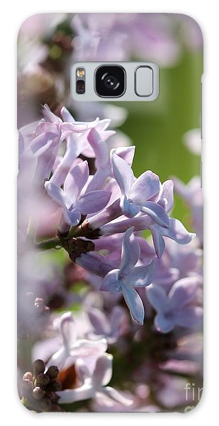 Common Purple Lilac Galaxy Case