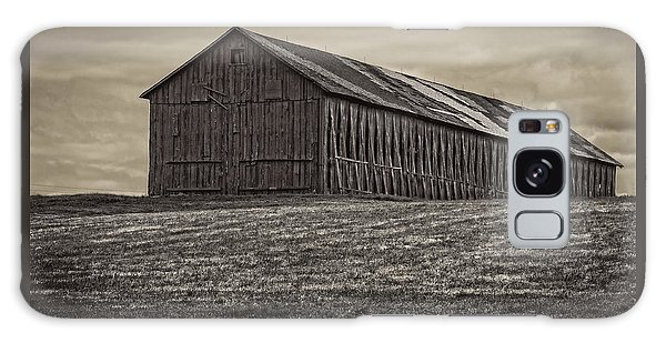 Connecticut Tobacco Barn Galaxy Case