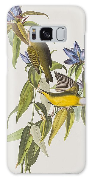 Connecticut Warbler Galaxy Case by John James Audubon