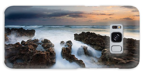 Rock Galaxy Case - Coral Cove Dawn by Mike  Dawson