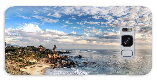 Corona Del Mar Shoreline Galaxy Case