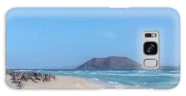 Corralejo - Fuerteventura Galaxy Case by Joana Kruse