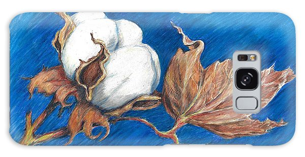 Cotton Picking Blues Galaxy Case