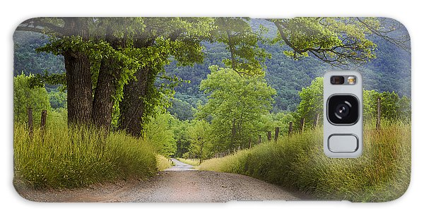 Country Lane In The Smokies Galaxy Case