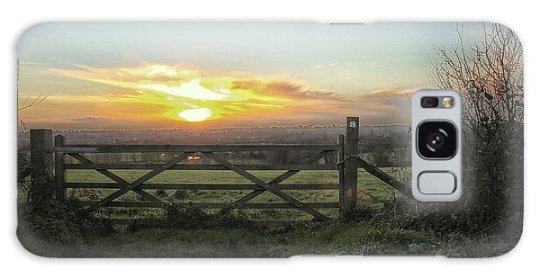 English Countryside Galaxy Case - Countryside by Martin Newman