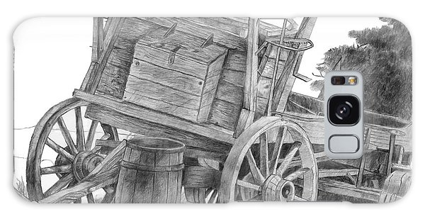 Covered Wagon Galaxy Case