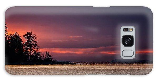 Craig Bay Sunset Galaxy Case