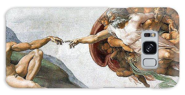 Creation Of Adam Galaxy Case