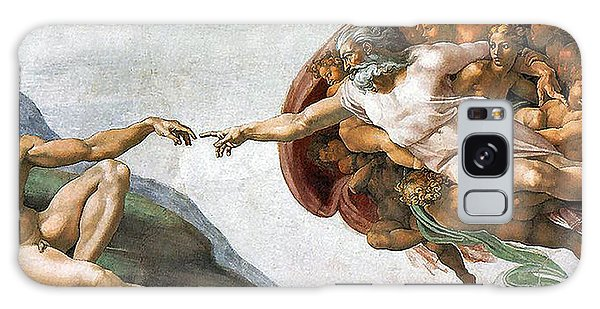 Creation Of Adam Galaxy Case