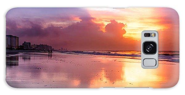 Crescent Beach September Morning Galaxy Case