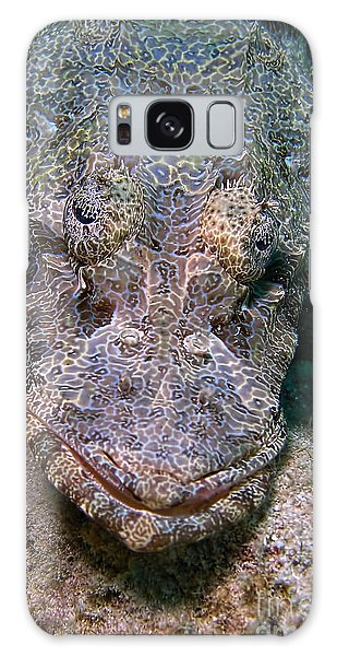 Crocodile Fish Galaxy Case by Joerg Lingnau