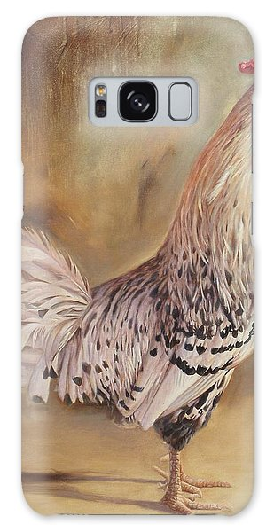 Crowing Rooster Galaxy Case