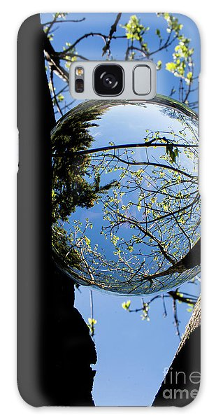 Crystal Reflection Galaxy Case by Deborah Klubertanz