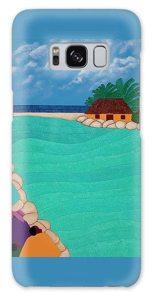 Curacao Lagoon Galaxy Case