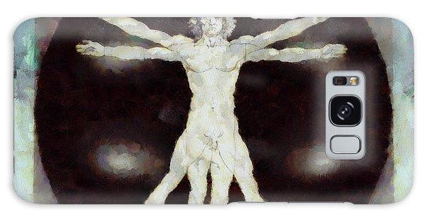 Anubis Galaxy Case - Da Vinci Dude by Esoterica Art Agency