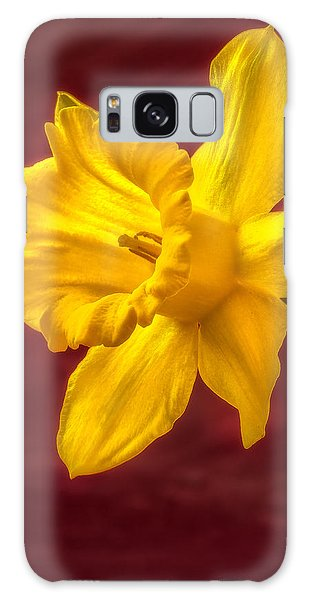 Daffodil Glow Galaxy Case
