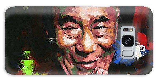 Abstract People Galaxy Case - Dalai Lama by Richard Day