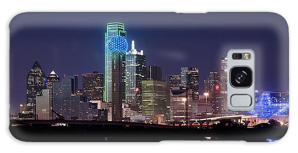 Dallas Skyline Cowboys Galaxy Case