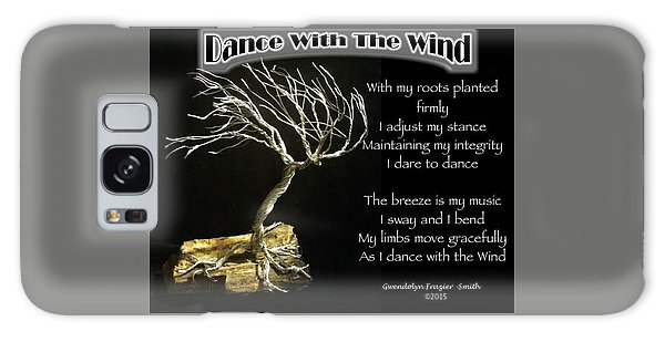 Dance With The Wind Galaxy Case