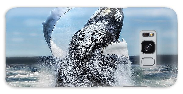 Dances With Whales Galaxy Case