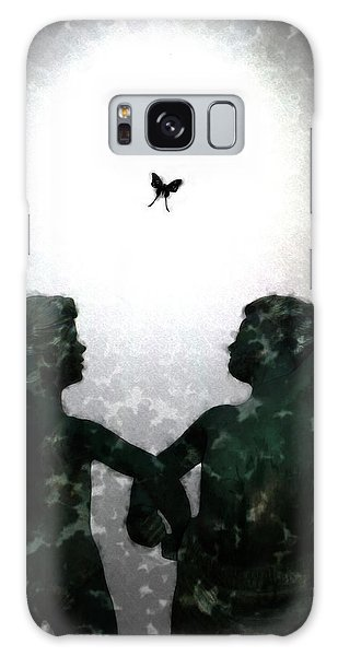 Dancing Silhouettes Galaxy Case