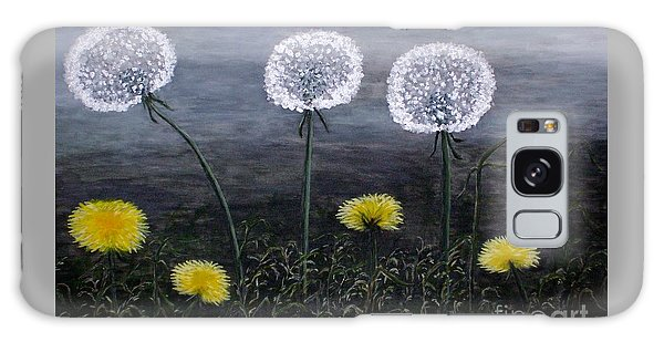 Dandelion Family Galaxy Case by Judy Kirouac