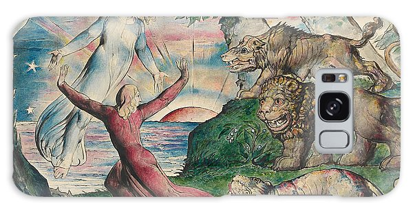 Beast Galaxy Case - Dante Running From The Three Beasts by William Blake