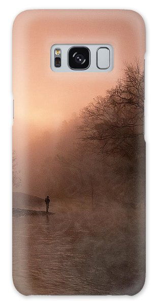 Dawn On The Lower Mountain Fork River Galaxy Case