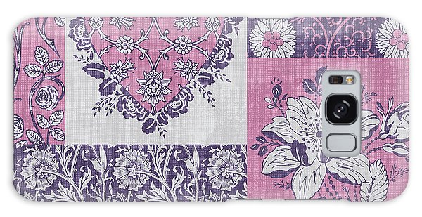 Tapestry Galaxy Case - Deco Heart Pink by JQ Licensing