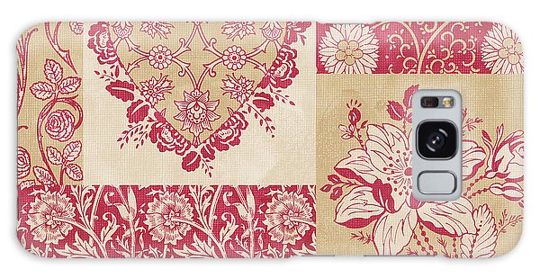 Tapestry Galaxy Case - Deco Heart Red by JQ Licensing