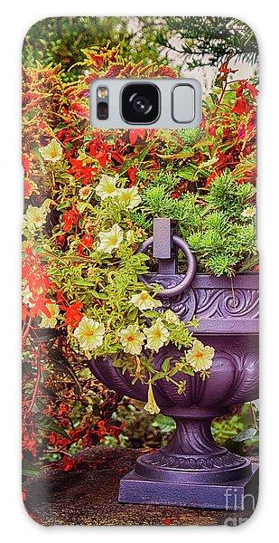 Decorative Flower Vase In Garden Galaxy Case