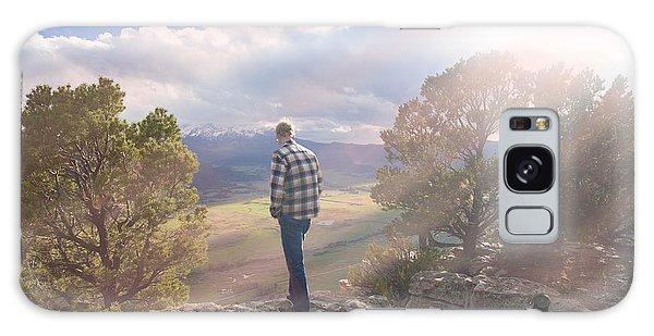 Deep In Thought. Ridgeway, Colorado Galaxy Case