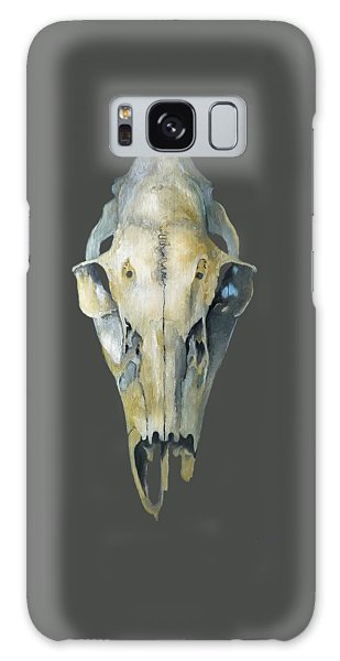 Deer Skull With Aura Galaxy Case by Catherine Twomey