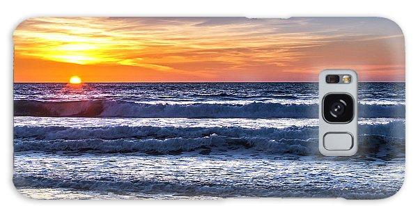 Sunset - Del Mar, California View 1 Galaxy Case
