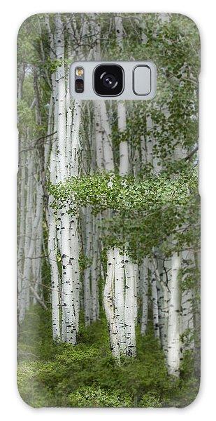 Delicate Aspens. Colorado Galaxy Case