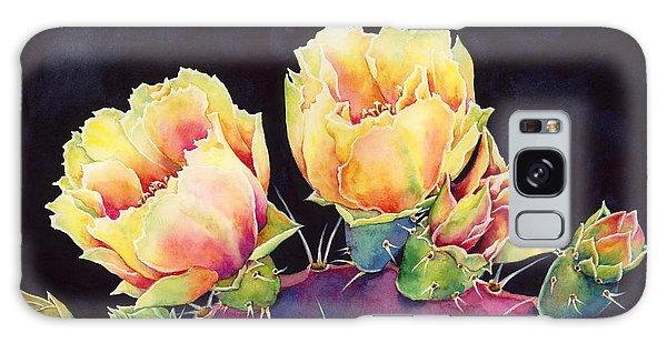 Bloom Galaxy Case - Desert Bloom 2 by Hailey E Herrera