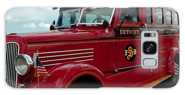 Detroit Fire Truck Galaxy Case