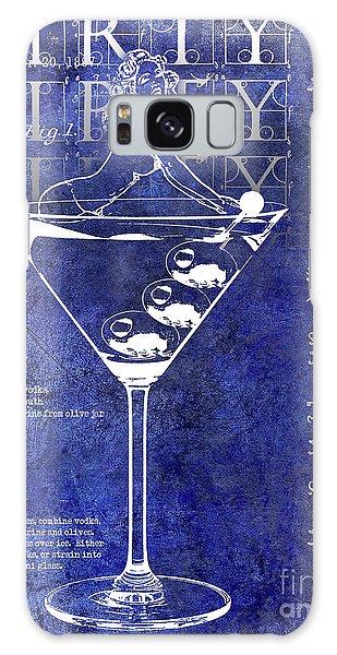 Dirty Dirty Martini Patent Blue Galaxy Case