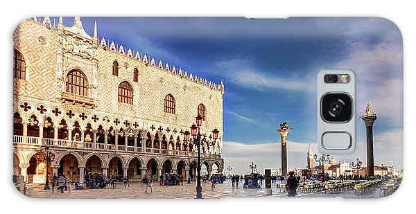 Galaxy Case featuring the photograph Doge's Palace On St Mark's Square - Venice by Barry O Carroll
