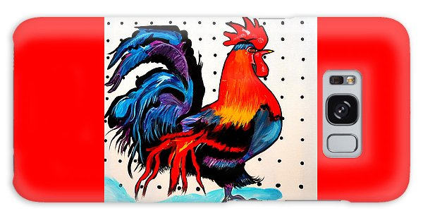 Doodle Do Rooster Galaxy Case