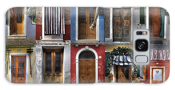 doors and windows of Burano - Venice Galaxy Case