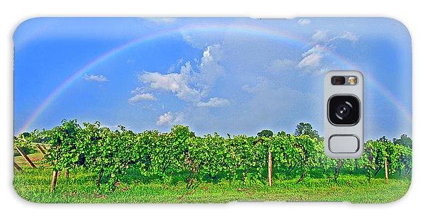 Double Rainbow Vineyard, Smith Mountain Lake Galaxy Case