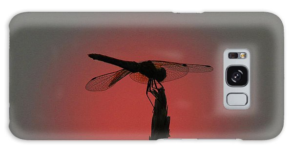 Dragonfly Sunset Galaxy Case