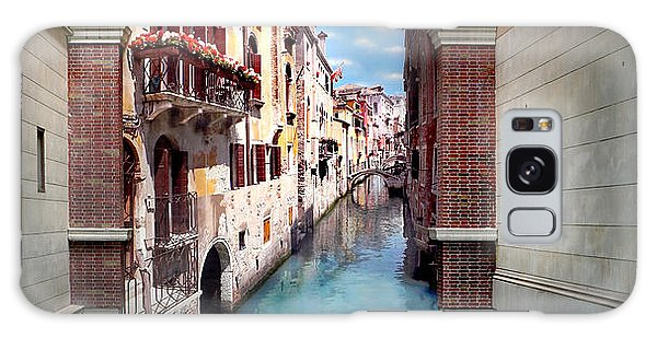 Dreaming Of Venice Panorama Galaxy Case