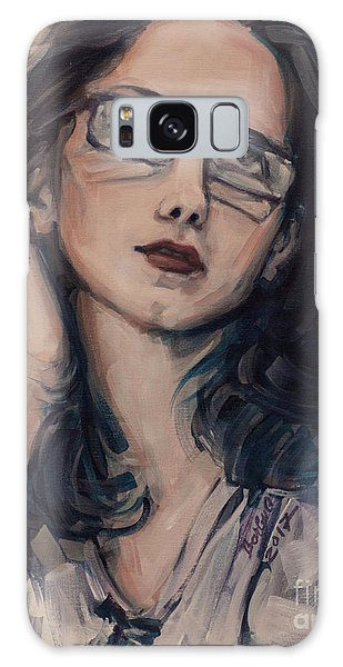Dreaming With Open Eyes Galaxy Case
