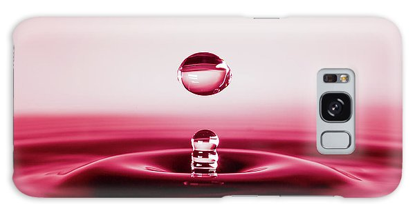 Drop Of Red Galaxy Case